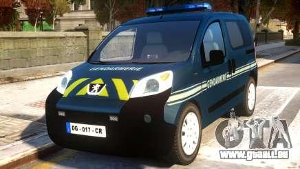 Peugeot Bipper Gendarmerie für GTA 4