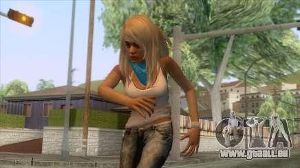 Jasmine Sanders Skin pour GTA San Andreas
