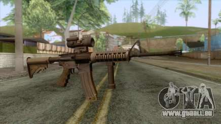 M4A1 with Aimpoint Sight für GTA San Andreas