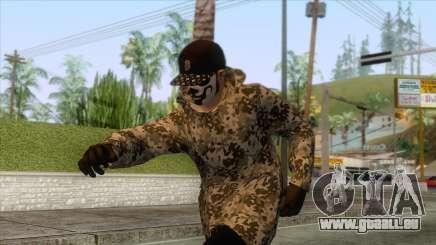 Run And Gun Skin 2 pour GTA San Andreas