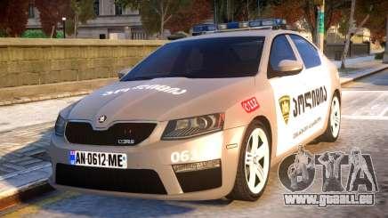 Skoda Octavia RS GEO POLICE für GTA 4