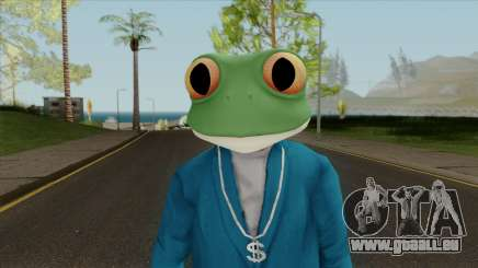 Toad Frog Mask From The Sims 3 pour GTA San Andreas