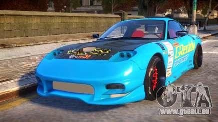 Mazda RX-7 KJC pour GTA 4