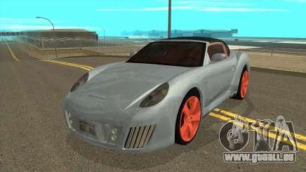 Rinspeed zaZen Concept 2006 pour GTA San Andreas