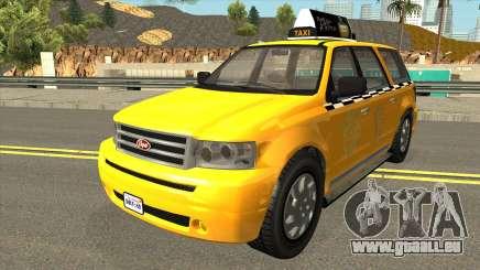 GTA V Vapid Taxi IVF für GTA San Andreas