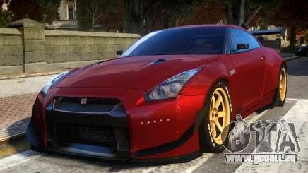 Nissan GTR R35 Rocket Bunny Beta pour GTA 4