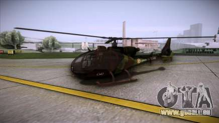 SA.341 GAZELLE Wargame: Red Dragon pour GTA San Andreas