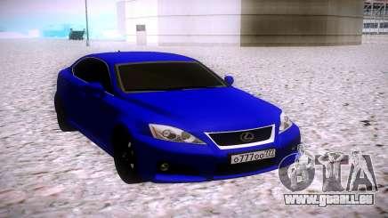 Lexus IS F für GTA San Andreas