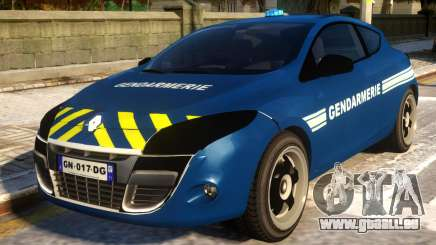 Renault Megane Gendarmerie pour GTA 4