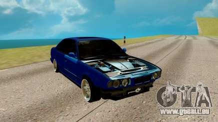 BMW M5 E34 bleu pour GTA San Andreas