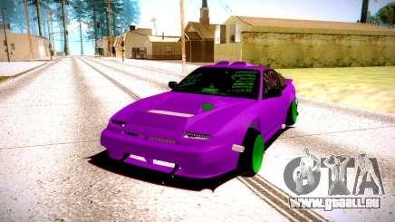 Nissan 240SX fuchsia pour GTA San Andreas