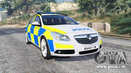 Vauxhall Insignia Tourer Police v1.1 [replace] für GTA 5
