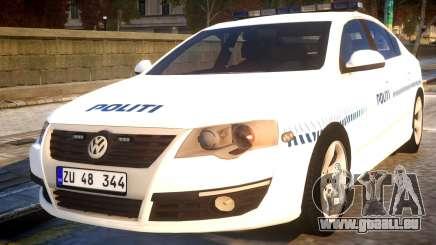 Volkswagen Passat Danish Police pour GTA 4