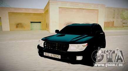 Toyota Land Cruiser 200 für GTA San Andreas