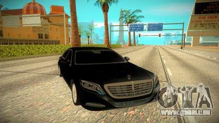 Mercedes-Benz S-class W222 2014 für GTA San Andreas