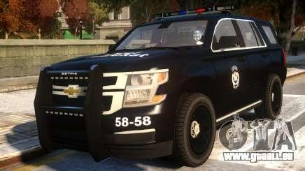 Chevrolet Tahoe Ozel Harekat pour GTA 4