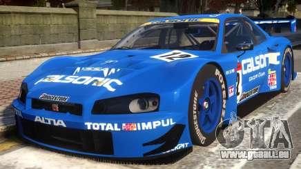 2003 Nissan Skyline JGTC für GTA 4