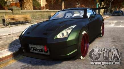 Nissan GTR Fast and Furious Movie car für GTA 4