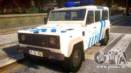 Land Rover Defender Police V2 pour GTA 4