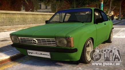 Opel Kadett C Coupe pour GTA 4