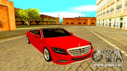 Mercedes-Maybach S600 X222 pour GTA San Andreas