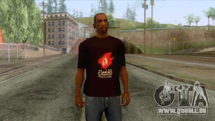 Wasthi T-Shirt für GTA San Andreas