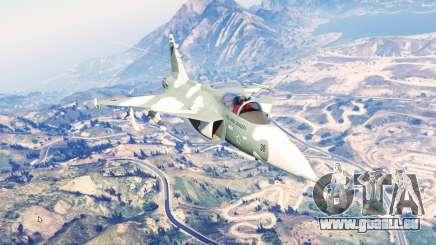 Saab JAS 39 Gripen [replace] pour GTA 5