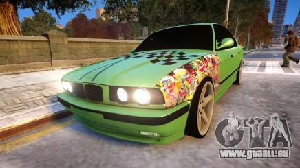 BMW M5 E34 Monster vs Turbo Style pour GTA 4
