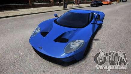 Ford GT 2017 v1.0 für GTA 4