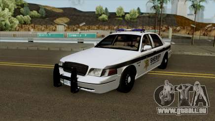 Ford Crown Victoria Sheriff Department pour GTA San Andreas