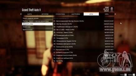 Alle 99 speichert nach jeder mission für GTA 5