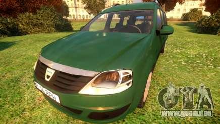 Dacia Logan MCV für GTA 4