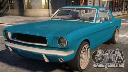 1965 Ford Mustang pour GTA 4