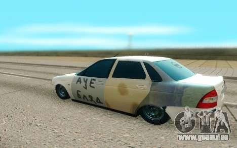 Lada Priora Cassé pour GTA San Andreas vue de droite