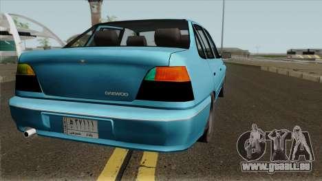 Daewoo Cielo 1.5 GLS (Iraqi Stock Version) 1998 für GTA San Andreas