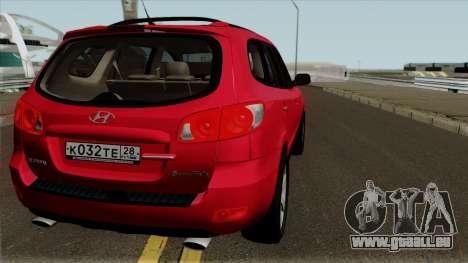 Hyundai Santa Fe für GTA San Andreas rechten Ansicht