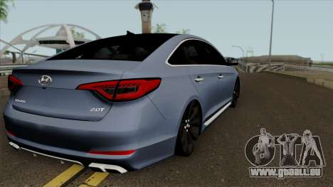 Hyundai Sonata 2017 für GTA San Andreas rechten Ansicht
