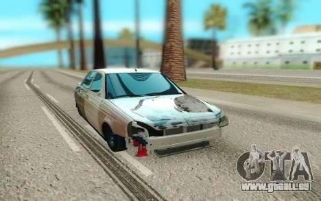 Lada Priora Cassé pour GTA San Andreas