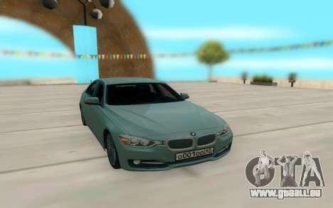 BMW 335i pour GTA San Andreas laissé vue