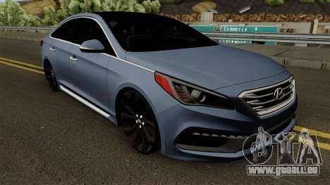 Hyundai Sonata 2017 für GTA San Andreas Innenansicht