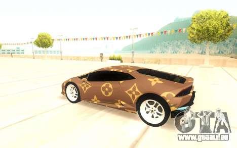 Lamborghini Huracan pour GTA San Andreas