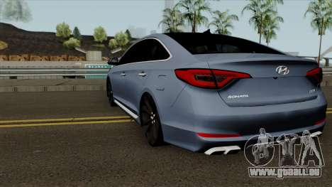 Hyundai Sonata 2017 für GTA San Andreas zurück linke Ansicht