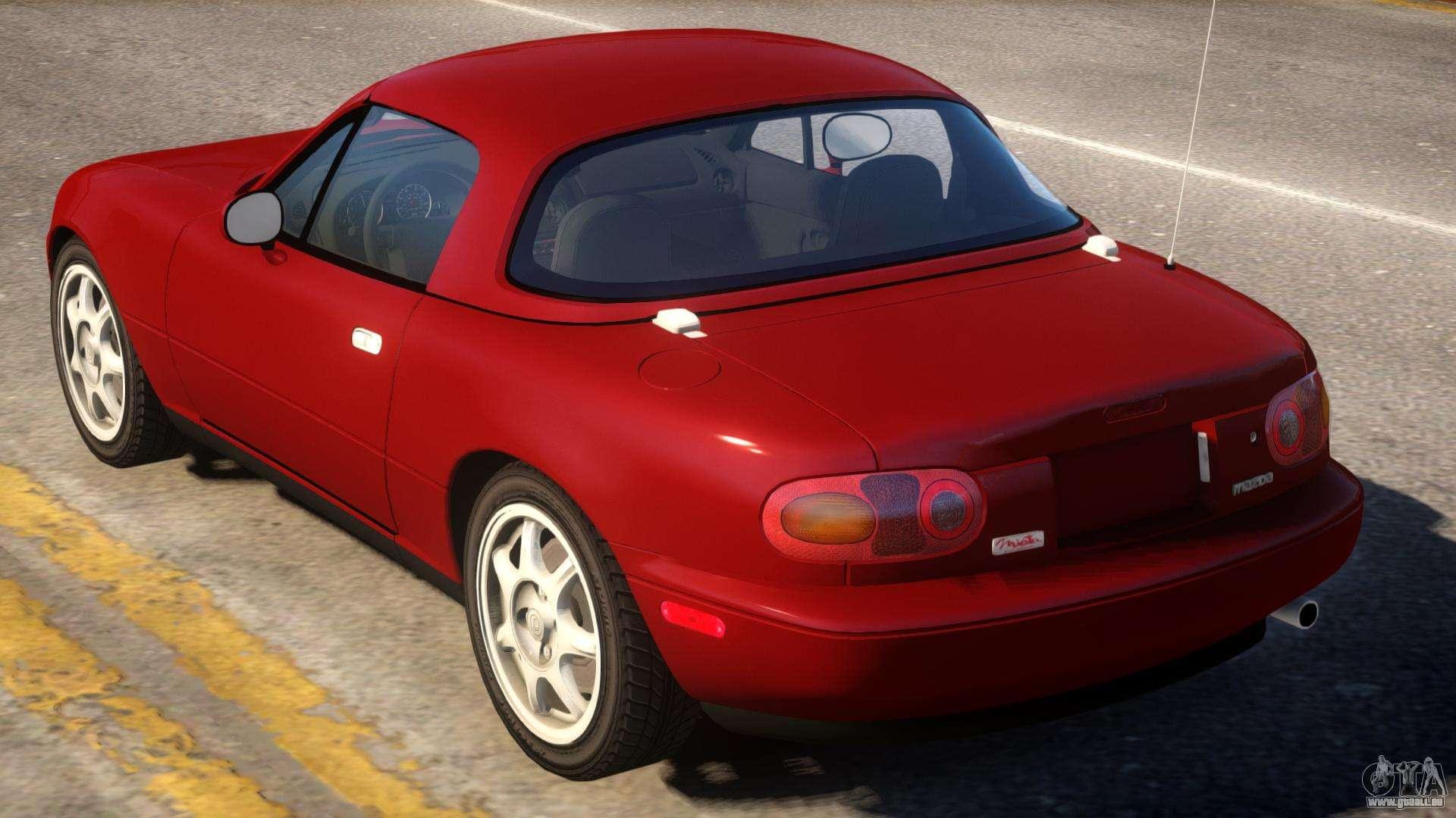 1997 Mazda Miata MX-5 pour GTA 4
