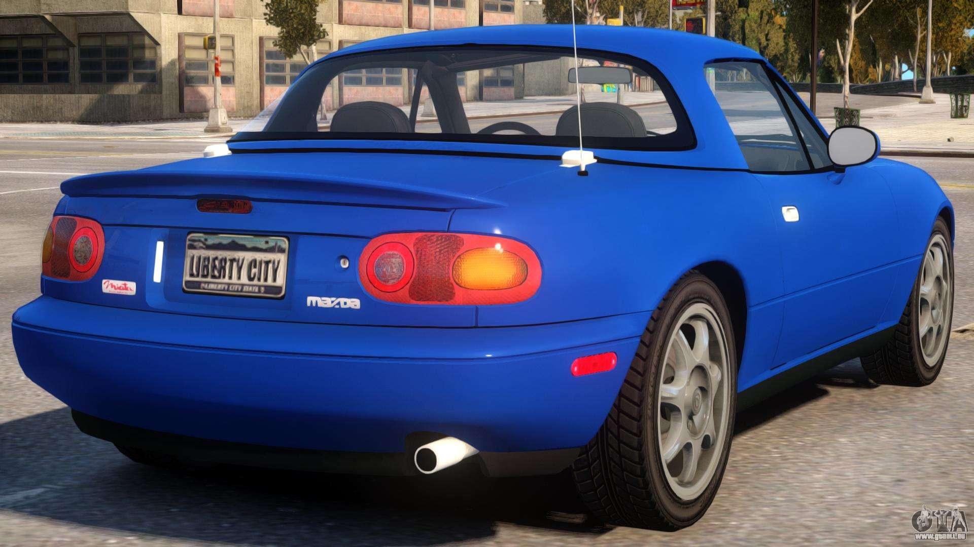 1997 Mazda Miata MX-5 V2 pour GTA 4