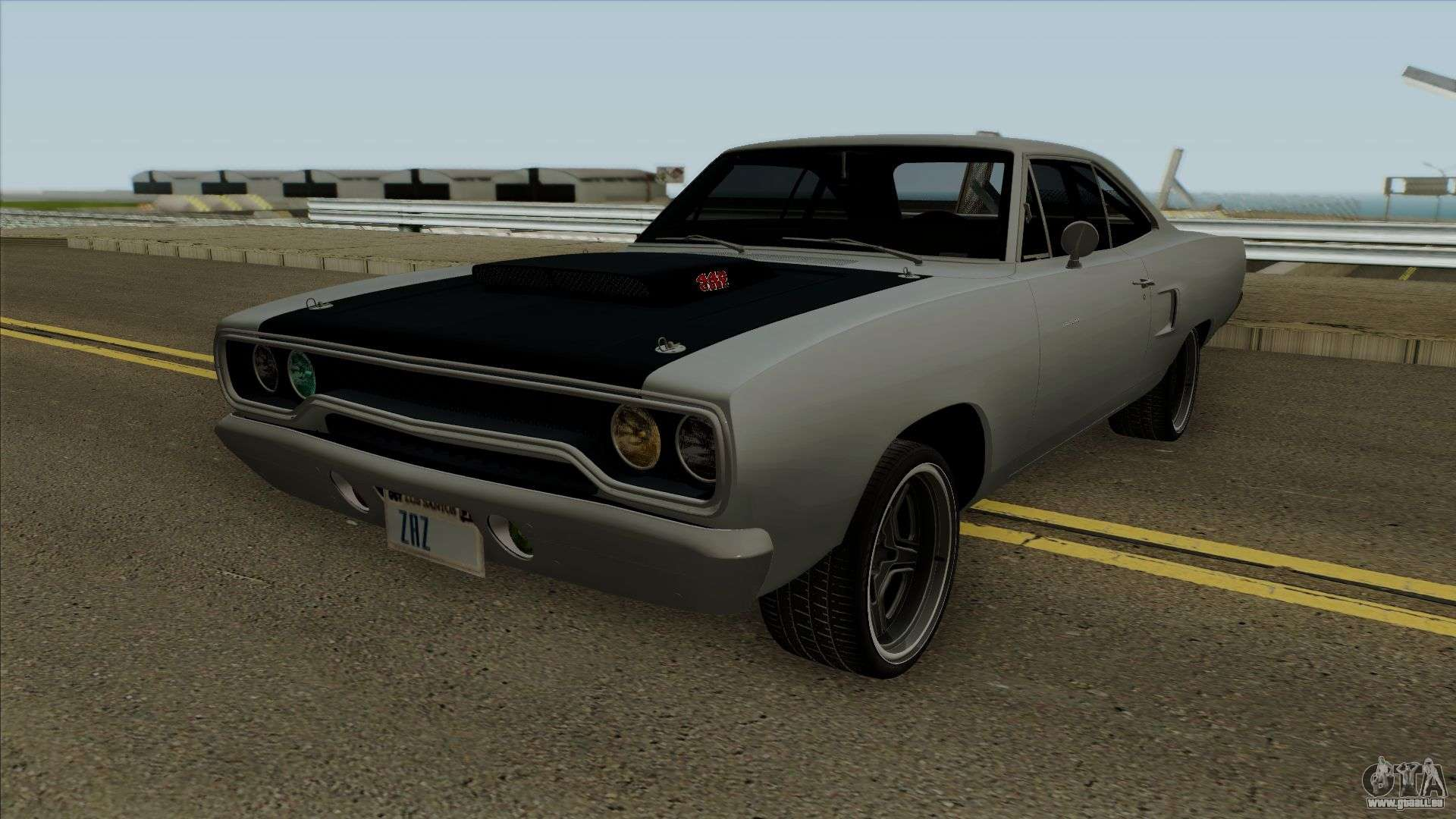 plymouth road runner fast and furious 7 1970 f r gta san. Black Bedroom Furniture Sets. Home Design Ideas