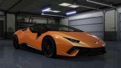 Lamborghini Huracan Performante Spyder 1.1 pour GTA 5