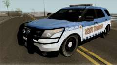 Ford Explorer 2016 Red County Police für GTA San Andreas