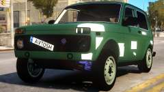 Lada Niva 4x4 pour GTA 4