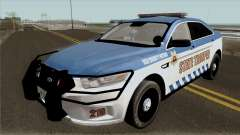 Ford Taurus 2013 Red County Police für GTA San Andreas