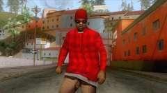 Crips & Bloods Ballas Skin 5 für GTA San Andreas